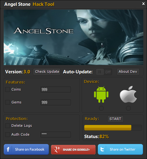 Angel Stone Android iOS Hack Tool