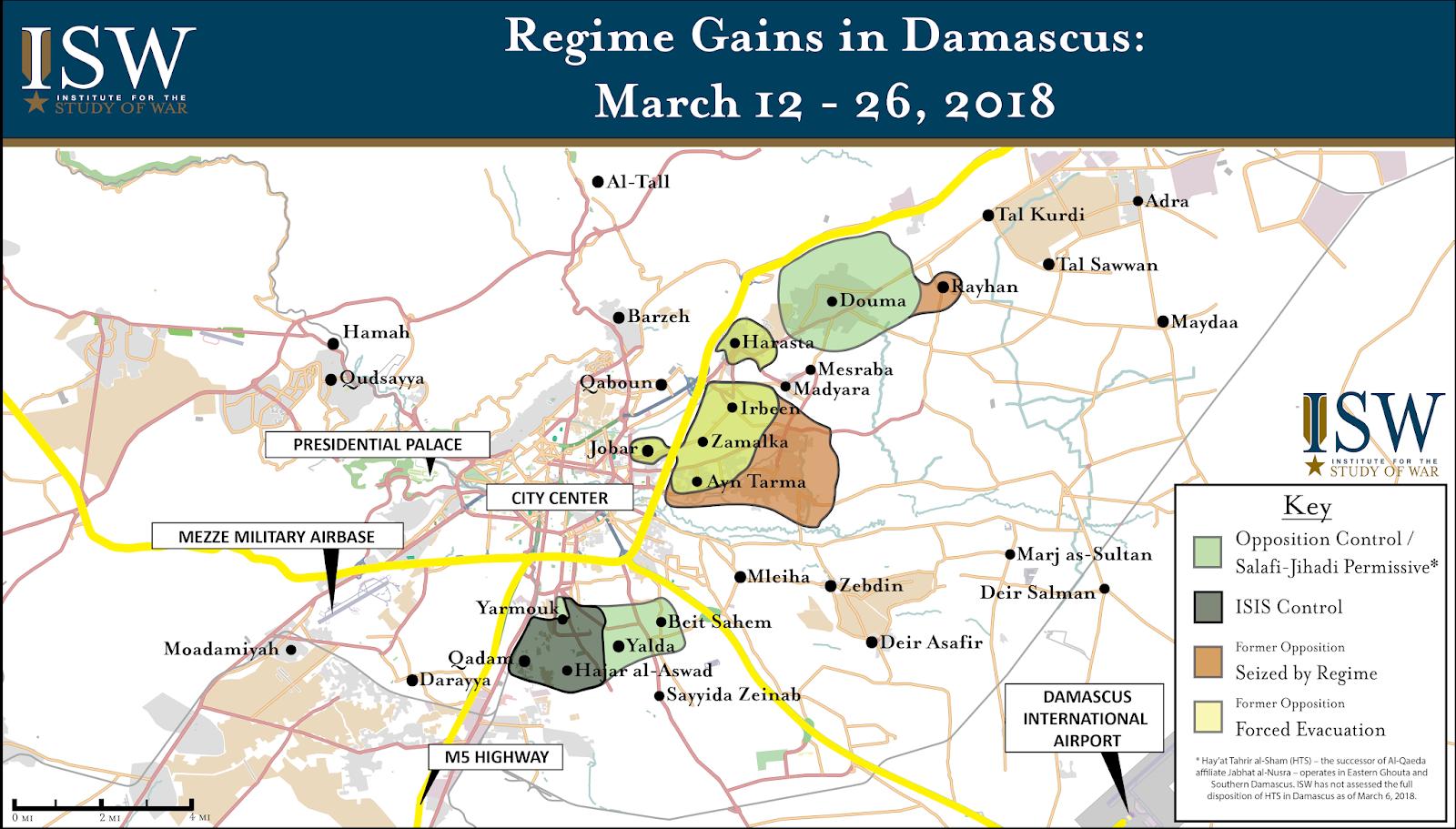 ISW Blog: Regime Gains in Damascus, Syria: March 12 - 26, 2018 on pakistan map, tunis tunisia map, damascus oregon map, asma al-assad, kabul afghanistan map, amman jordan map, baghdad map, world map, jerusalem map, beirut lebanon map, bahrain map, golan heights map, ancient damascus map, istanbul map, damascus steel, middle east map, rome italy map, arabian sea map, bashar al-assad, algiers algeria map, mid east map, damascus citadel, tripoli lebanon map, tel aviv,
