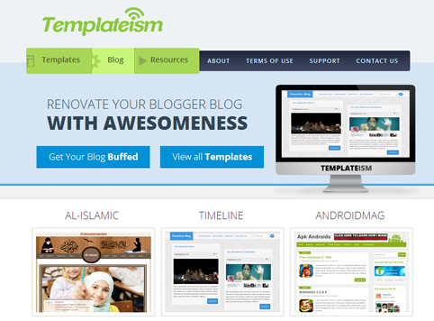 Templateism.com new Design