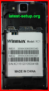 Winmax XC1 MT6572 Official Firmware Flash File Download