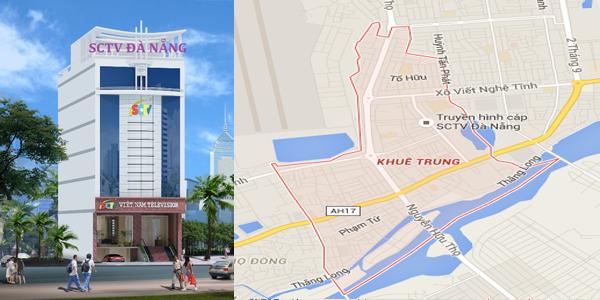 Truyền hình cáp SCTV phường Khuê Trung