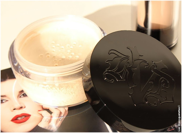 Poudre libre transparente, Lock It Setting Powder - Kat Von D - Blog beauté