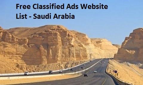 Top 20 Free Saudi Arabia Classified Sites 2019 | Best Post Free