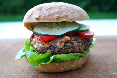 Parsnip and Pine Nut Soya Veggie Burgers