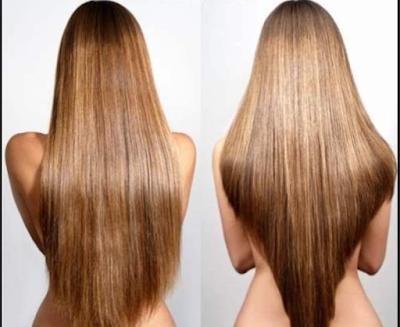 model rambut segi bentuk V pada bagian belakang