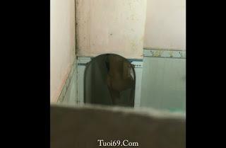 Clip: Quay lén em học sinh trong NN Biên Hòa lúc em tắm