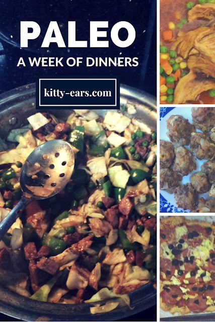 A week of paleo dinners pt 2