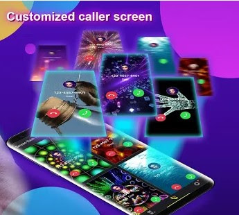 Phone Color Screen – Colorful Call Flash Themes Apk free on Android