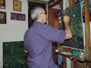 Jorge Marin paisajista Colombiano