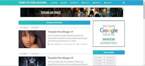 Template Blogger VioMagz Premium Gratis