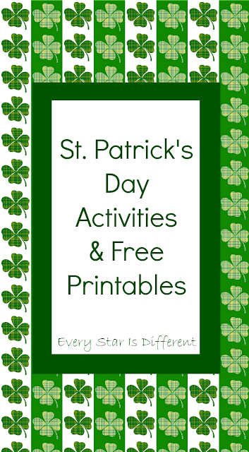 St. Patrick's Day learning activities and free printables