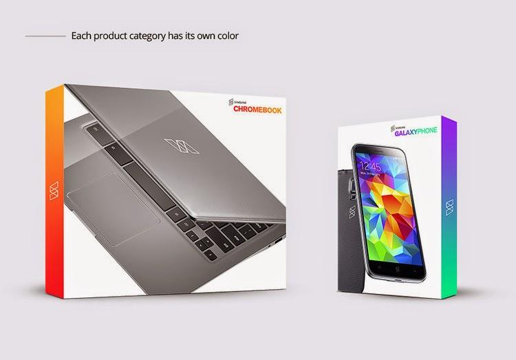 Concepto de branding para Samsung