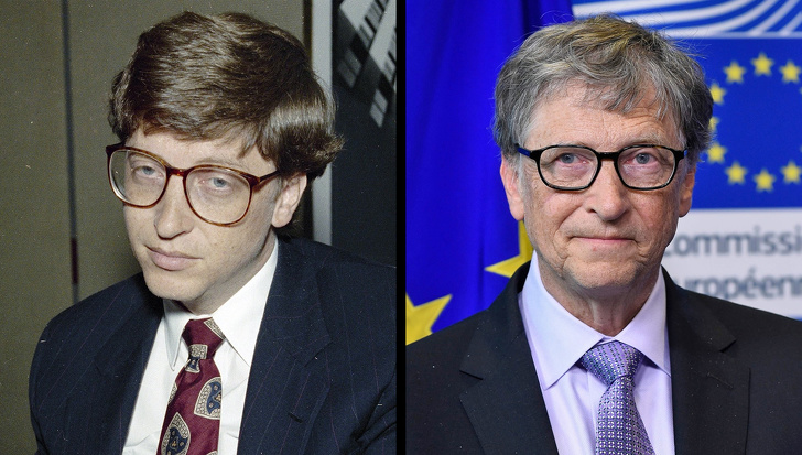 10 Then And Now Pictures Of Famous Millionaires Show How Different They Were In Their Youth