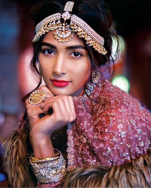 Pooja Hegde Femina Wedding Times Photoshoot Pics