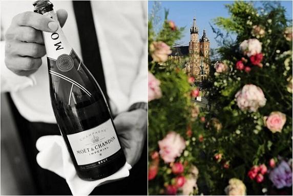 Wesele w Hotelu Starym w Krakowie, Miejsce na wesele Kraków, romantyczne dekoracje na wesele, wesele międzynarodowe