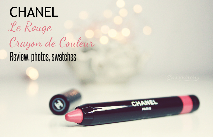 Chanel Le Rouge Crayon de Couleur Lipstick: review, photos, swatches