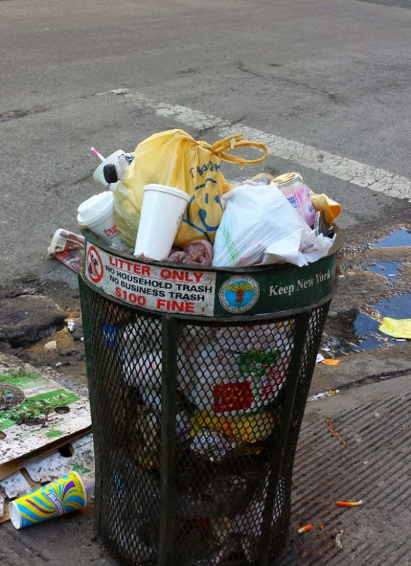 A Fine Blog: Garbage Problems on East 86th Street Recall Bad Old Days