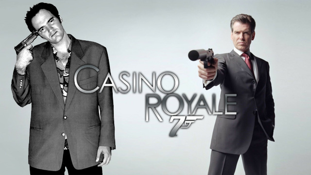 BOND: Quentin Tarantino's Casino Royale - Warped Factor - Words in the Key of Geek.