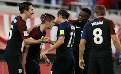 Antes de la Hexagonal Final, Estados Unidos ya derrotó 4-0 a Trinidad y Tobago en las eliminatorias Concacaf Rusia 2018