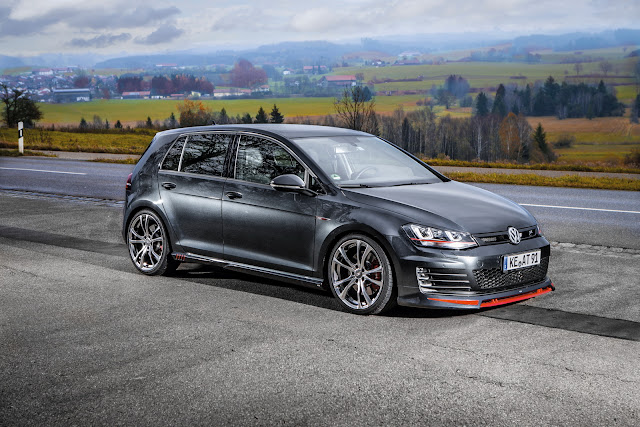 2017 ABT VW Golf VII - #ABT #Golf #tuning #volskwagen