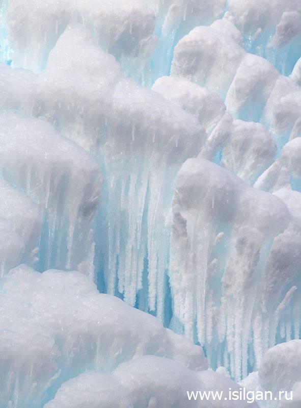 """Ледяной фонтан 2016. Национальный парк """"Зюраткуль"""". Челябинская область"""