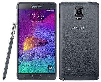 Harga Samsung Galaxy Note 4 Duos