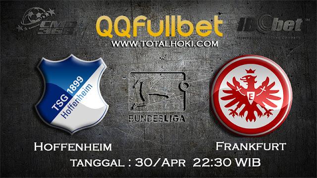 PREDIKSI BOLA HOFFENHEIM VS FRANKFURT 30 APRIL 2017