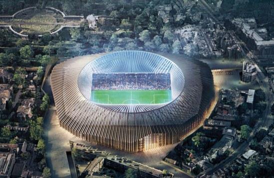 stadion baru chelsea