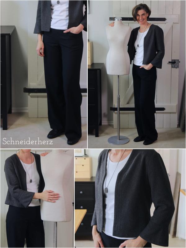 Outfit selbstgenäht- klassisch und zeitlos