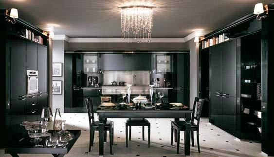 All Black Kitchen Design Ideas Ideas For Home Decor