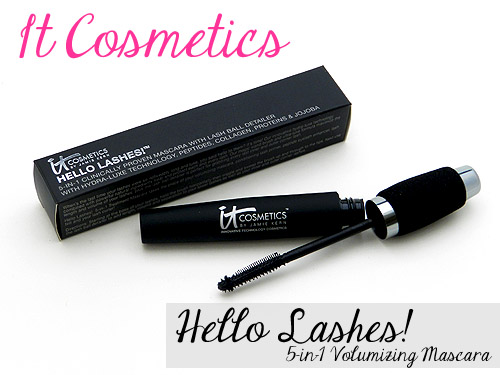 ea2acd0d825 IT Cosmetics Hello Lashes 5-in-1 Volumizing Mascara Review! - Blog ...