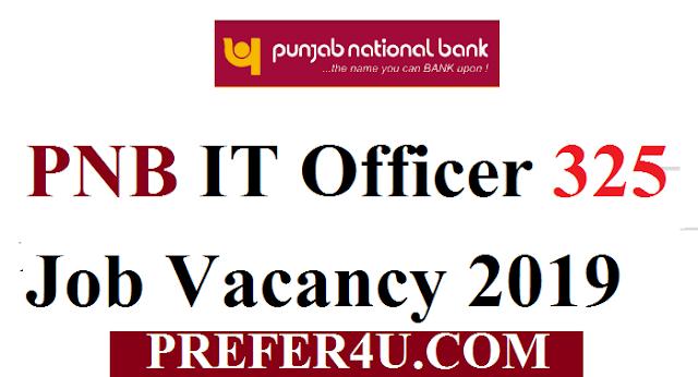 पंजाब नेशनल बैंक में 325 पदों पर भर्ती || ऑनलाइन आवेदन करें