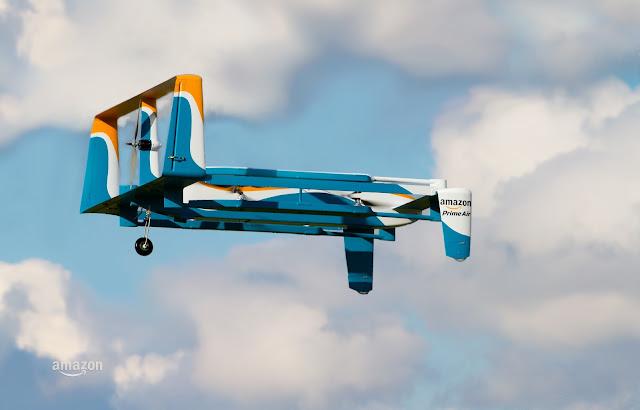 drone de amazon prime