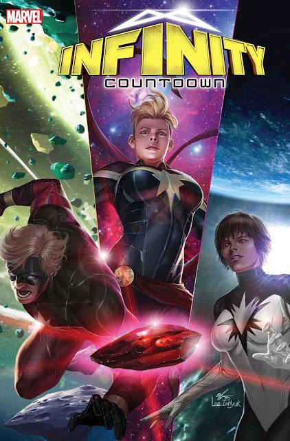 Captain Marvel, Daredevil and Darkhawk