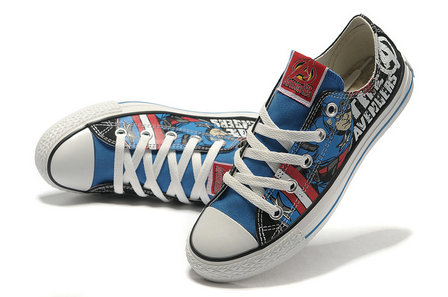 CONVERSE Captain America The Avengers Edition Printed Blue