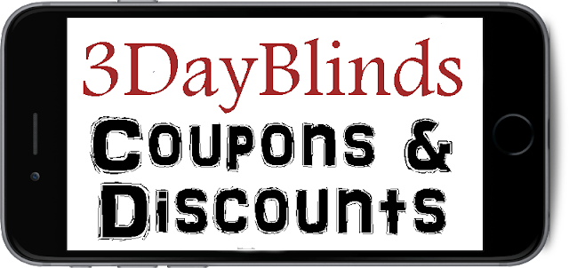 3DayBlinds.com Promo Codes 2016-2017, 3 Day Blinds Coupons August, September, October