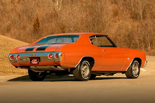 1971 Chevrolet Chevelle Malibu SS Rear Right