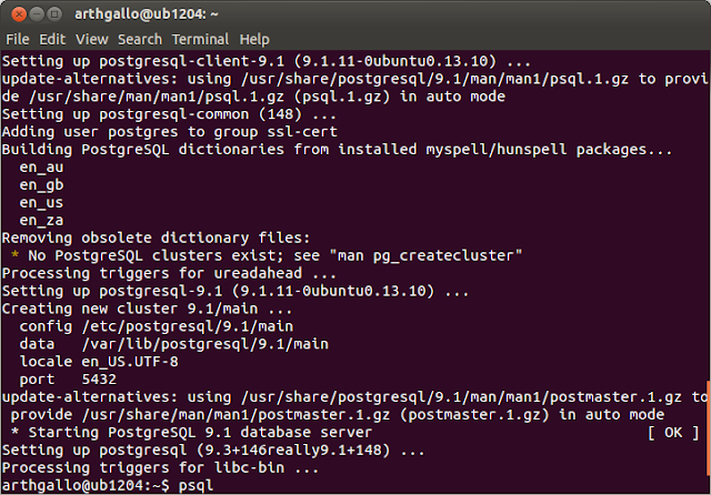 Open design and architecture: Installing PostgreSQL on Ubuntu