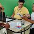 Pacientes receberam colírios para tratamento do glaucoma em Andorinha