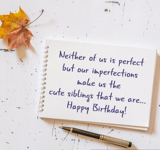 Happy Birthday wishes for Sister quote image