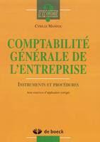Télécharger Livre Gratuit Comptabilité générale de l'entreprise pdf