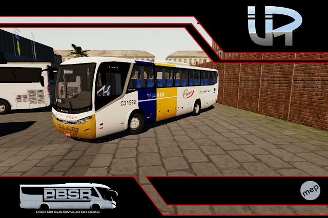 Skin Proton Bus Simulator Road - Audace MB OF-1721 BT5 Auto Viação Via Rio
