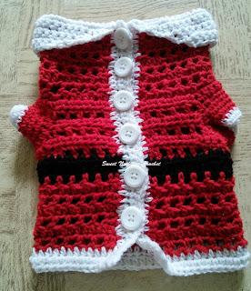 How to Crochet a XS Dog/Cat-Puppy/Kitten Sweater| HD - YouTube | 320x276