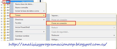 reconectar una base de datos SQL Server
