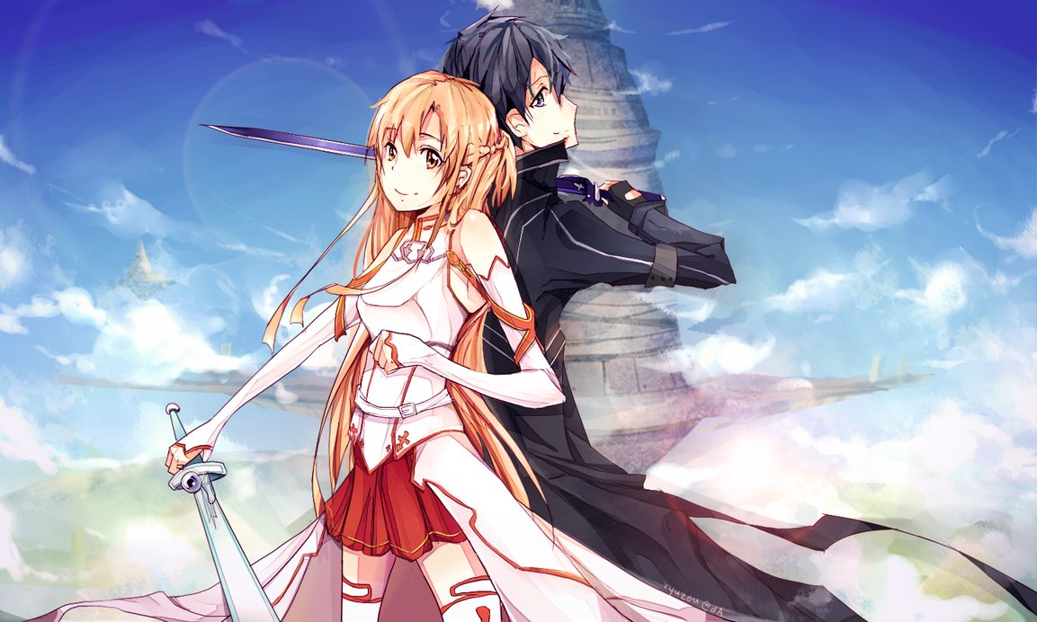 Sword Art Online Background: Kirito And Asuna 15 Wallpapers