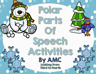 http://www.teacherspayteachers.com/Product/Polar-Parts-of-Speech-Activities-1031133