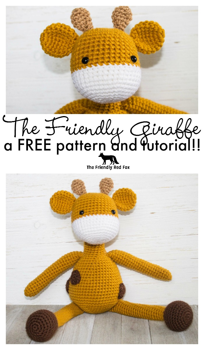 Ravelry: Baby Giraffe Amigurumi pattern by Courtney Deley | 1200x700