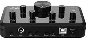 Simple home recording studio equipment Sound Card