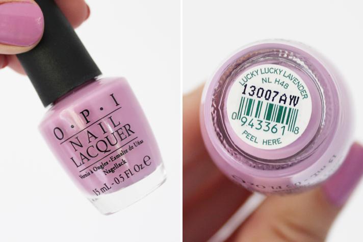 NOTD | OPI Lucky Lucky Lavender - CassandraMyee