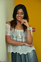 Eesha in a cute deep neck top and Skirt at at Big FM 095.JPG